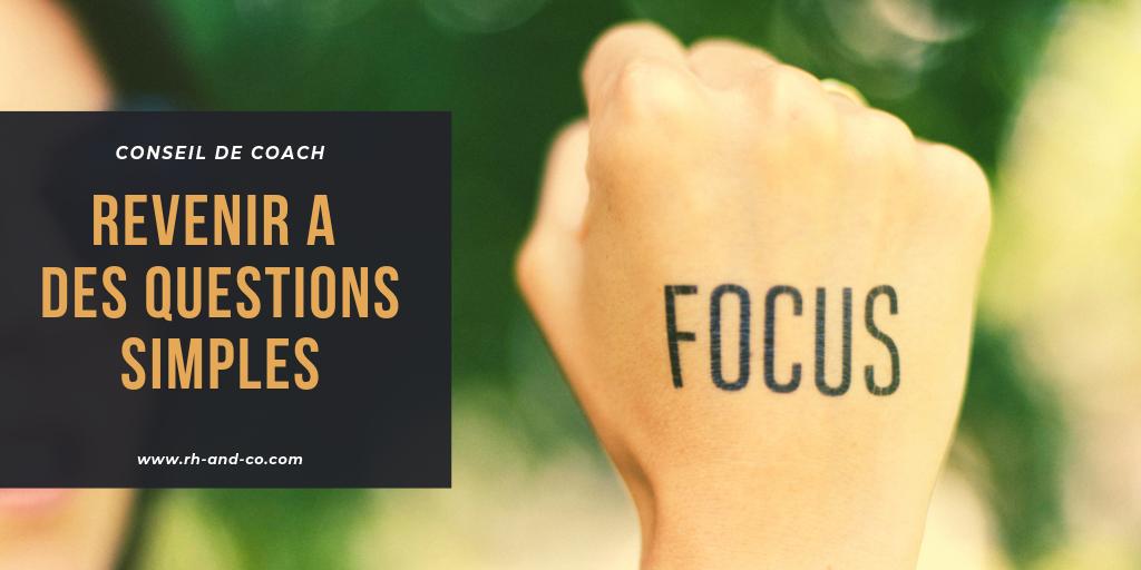 Questions simples Focus